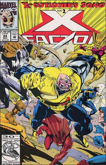 X-Factor (1986) 84-B by Marvel
