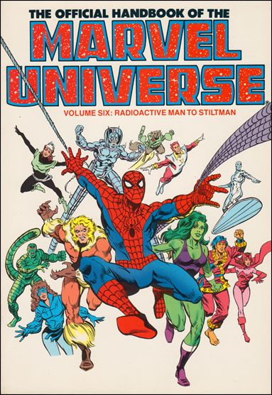 Official Handbook of the Marvel Universe 6-B by Marvel
