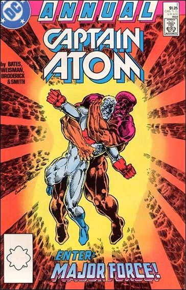 Captain Atom Annual 1-A by DC