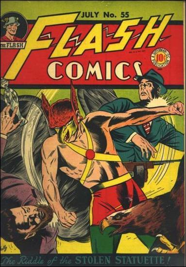 Flash Comics (1939) 55-A by DC