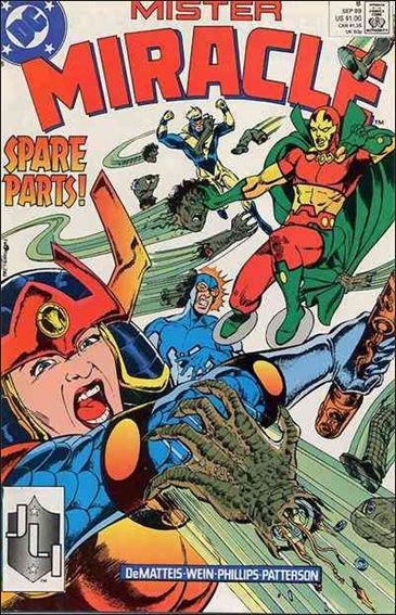Mister Miracle (1989) 8-A by DC