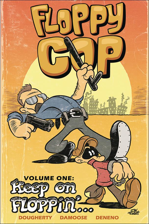 Floppy Cop 1-A by Source Point Press