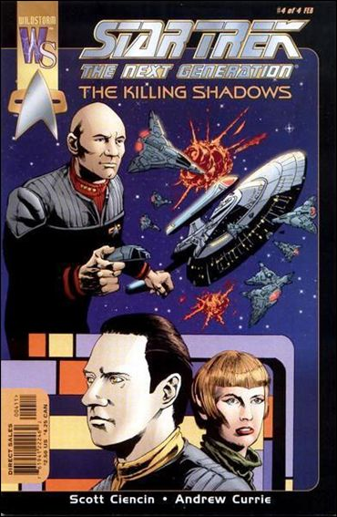 Star Trek: The Next GenerationThe Killing Shadows 4-A by WildStorm
