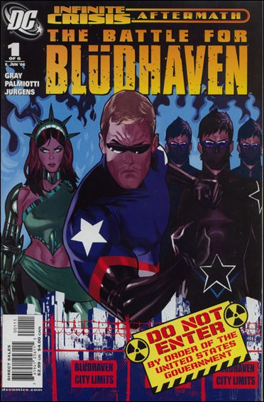 Crisis Aftermath: The Battle For Bludhaven 1-A by DC