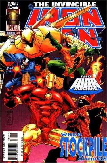 Iron Man (1968) 330-A by Marvel