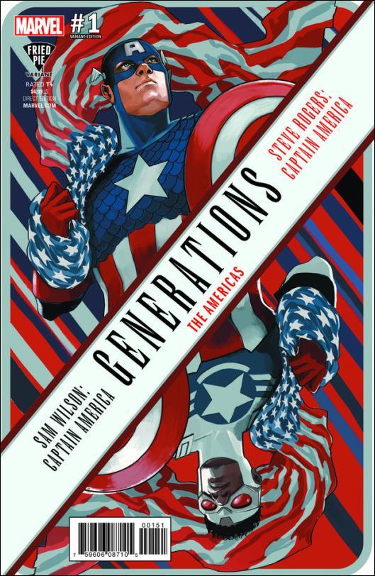 Generations: Sam Wilson Captain America & Steve Rogers Captain America 1-D by Marvel