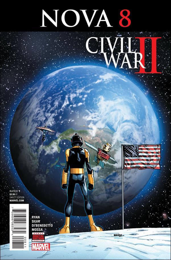 Nova (2016) 8-A by Marvel