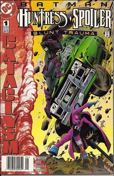 Batman: Spoiler/Huntress - Blunt Trauma 1-A by DC