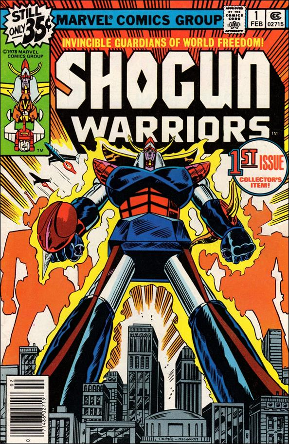 Shogun Warriors 1-A by Marvel