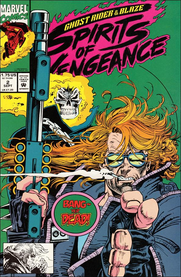 Ghost Rider/Blaze: Spirits of Vengeance 2-A by Marvel