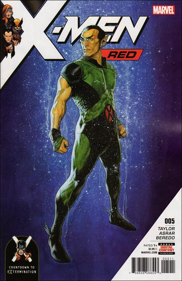 X-Men: Red 5-A by Marvel