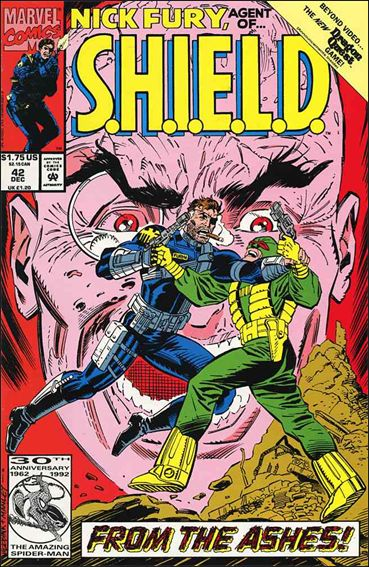 Nick Fury, Agent of S.H.I.E.L.D. (1989) 42-A by Marvel