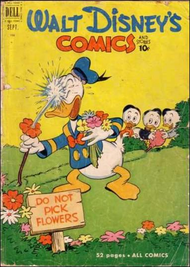 Walt Disney's Comics and Stories (1940) 132-A by Dell