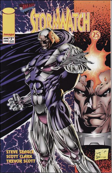 StormWatch (1993) 25-A by Image