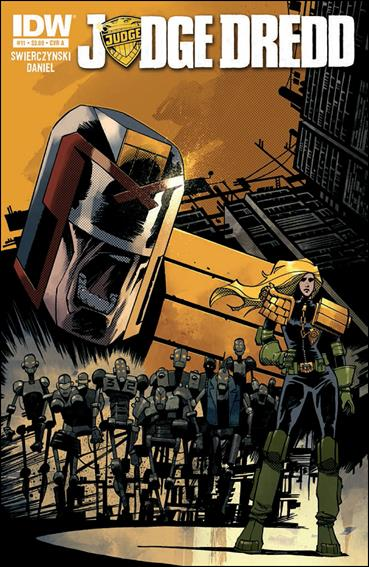 Judge Dredd (2012) 11-A by IDW
