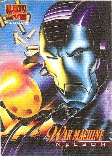 1995 Marvel Masterpieces (Canvas Subset) 22-A by Fleer