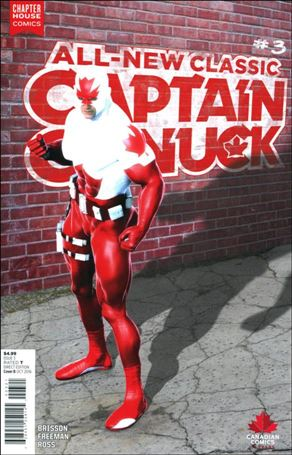 All-New Classic Captain Canuck 3-B