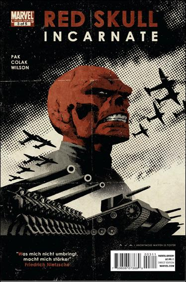 Red Skull (2011) 3-A by Marvel