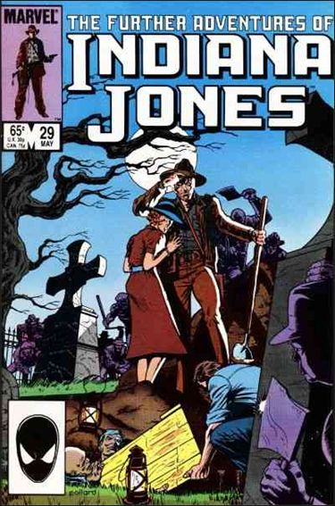 Further Adventures of Indiana Jones 29-A by Marvel