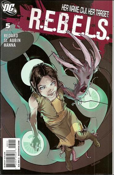 R.E.B.E.L.S. (2009) 5-A by DC
