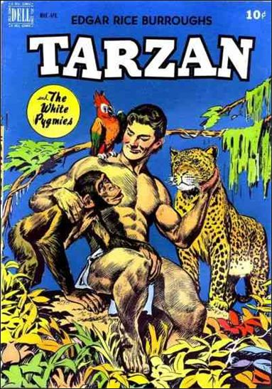 Tarzan (1948) 8-A by Dell