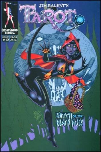Tarot: Witch of the Black Rose 12-A by BroadSword Comics