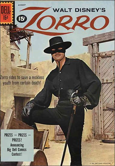 Zorro (1959) 14-A by Dell