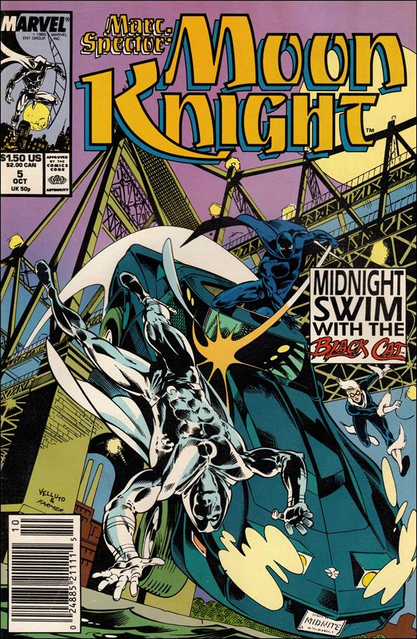 Marc Spector: Moon Knight 5-A by Marvel