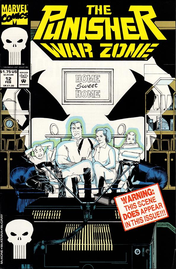 Punisher: War Zone (1992) 12-A by Marvel