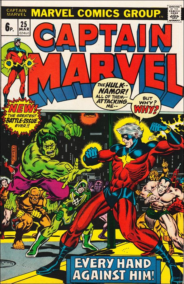 Captain Marvel (1968) 25-B by Marvel