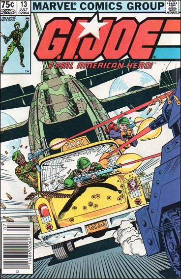 G.I. Joe: A Real American Hero 13-B by IDW