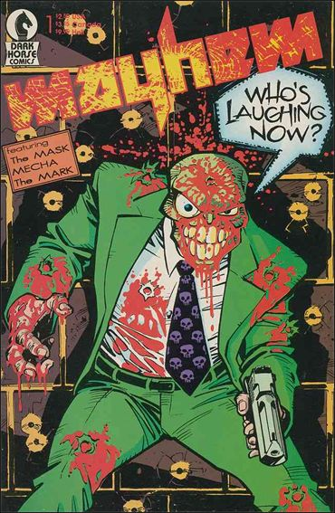 Mayhem (1989) 1-A by Dark Horse