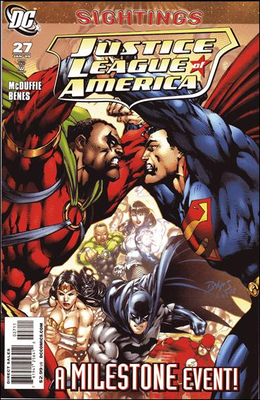Justice League of America (2006) 27-A by DC