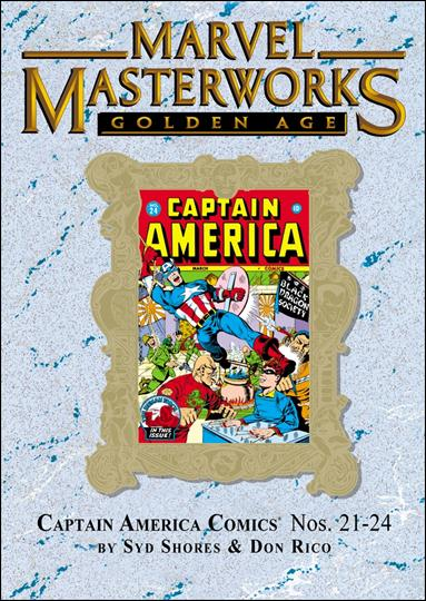 Marvel Masterworks: Golden Age Captain America 6-B by Marvel