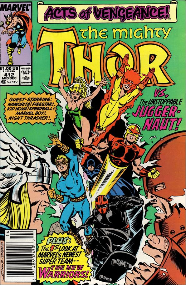 Thor (1966) 412-A by Marvel