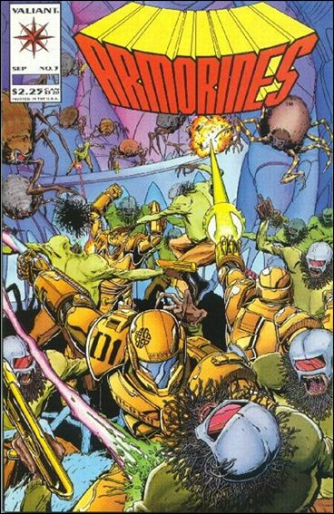 Armorines (1993) 3-A by Valiant