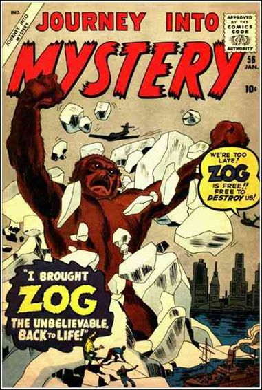 Journey into Mystery (1952) 56-A by Marvel