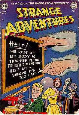Strange Adventures (1950) 22-A by DC