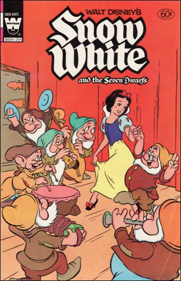 Walt Disney's Snow White and the Seven Dwarfs nn-D by Gold Key