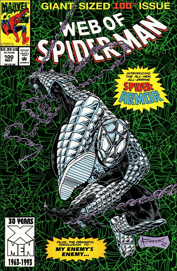 Web of Spider-Man (1985) 100-A by Marvel