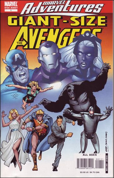 Giant Size Marvel Adventures The Avengers 1-A by Marvel