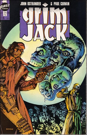 Grimjack 72-A by First