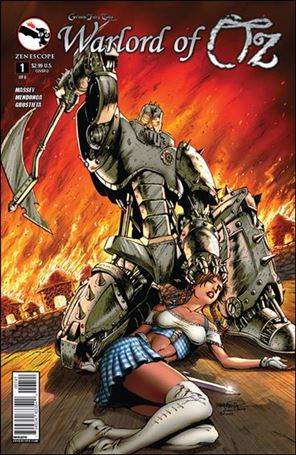 Grimm Fairy Tales Presents Warlord of Oz 1-D