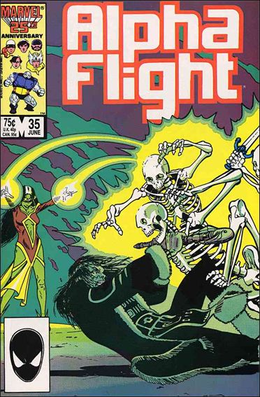 Alpha Flight (1983) 35-A by Marvel