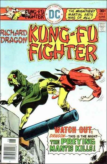 Richard Dragon, Kung-Fu Fighter 9-A by DC