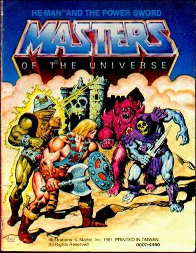 Masters of the Universe (1981) 1.1-B by Mattel