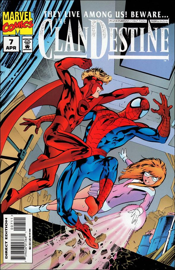 ClanDestine (1994) 7-A by Marvel