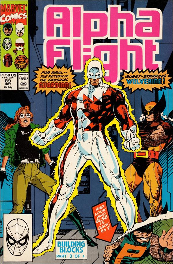Alpha Flight (1983) 89-A by Marvel