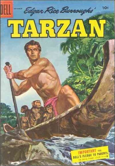 Tarzan (1948) 72-A by Dell