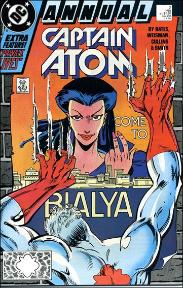 Captain Atom Annual 2-A by DC